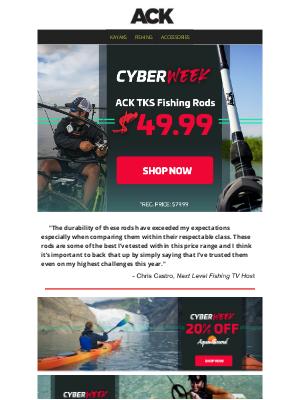 Austin Kayak - SHOP CYBER MONDAY || Up to 20% Off Brands Aquabound, Werner & More