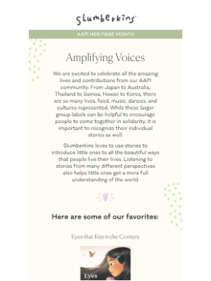 Slumberkins - Amplifying Voices Through Stories✨