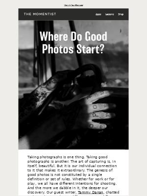 Moment, Inc. - Where Do Good Photos Start?