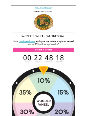 It's Wonder Wheel Wednesday!