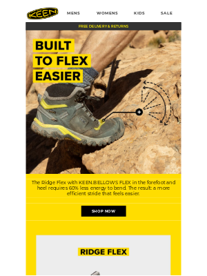 KEEN - The E-Bike of Hiking Boots
