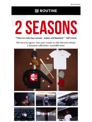 Routine Baseball - The 2 Seasons Collection is Back