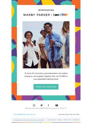 Warby Parker - A celebration of originality