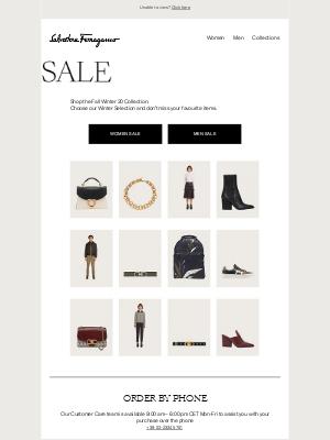 Salvatore Ferragamo UK - Fall Winter Sale Starts Today