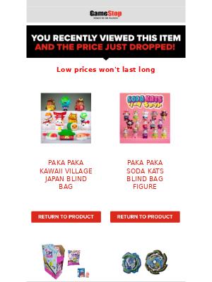 GameStop - Paka Paka Kawaii Village Japan Blind Bag Figure is on sale for a limited time!