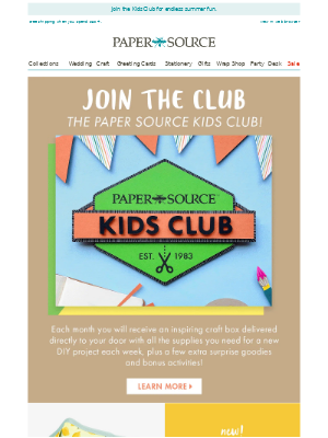 Craft Kits for Kids, Delivered to Your Door!