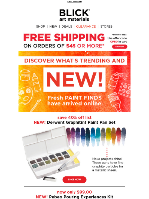 Time to refresh your paint collection!