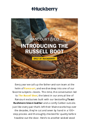 Huckberry - The Wolf Boot is Back
