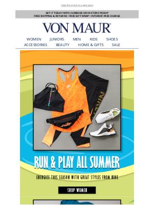 Von Maur - Summer Ready With Nike!