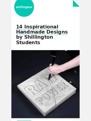 🙌 14 Inspirational Handmade Designs by Shillington Students