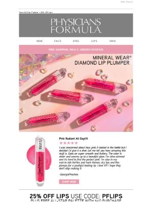 Physicians Formula - Diamond Lips Anyone?