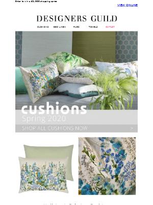 Cushions of the Season