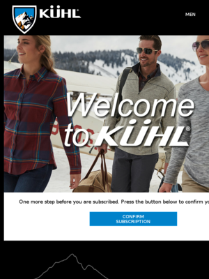 Confirm Your Subscription to KUHL