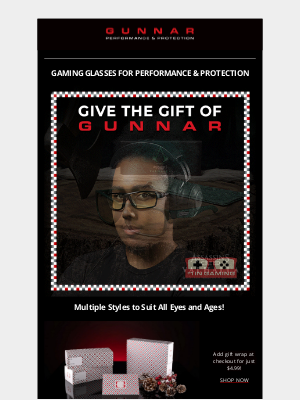 GUNNAR Optiks - Give the Gift of GUNNAR for the Gamer in Your Life 🎮🎁