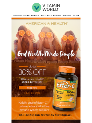 Immune Support & more ➡️ Up to 30% OFF