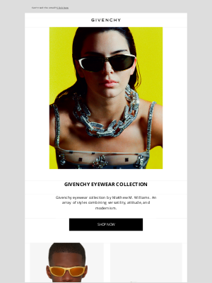 Givenchy - The Givenchy Eyewear Collection by Matthew M. Williams