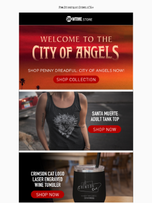 Penny Dreadful: City of Angels Merch is Here 🔥 + Free Shipping on Orders $75+