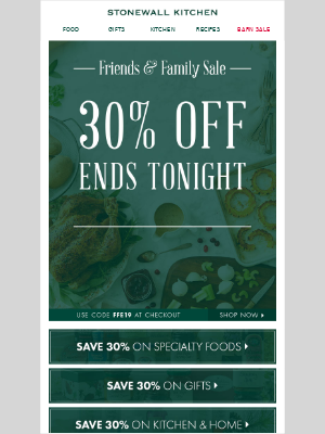 HURRY! Friendship might be forever, but this SALE is almost over!