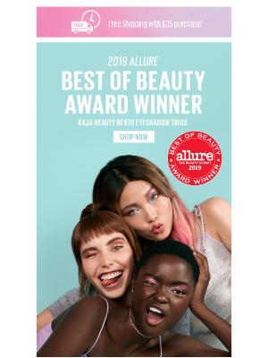 ✨ ALLURE Best of Beauty Winner... ✨