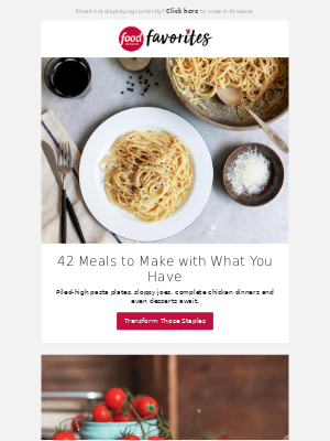 42 Meals to Make with What You Have
