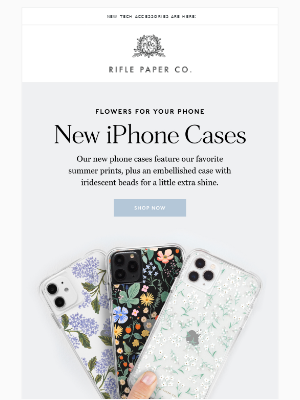 Fresh Floral Phone Cases