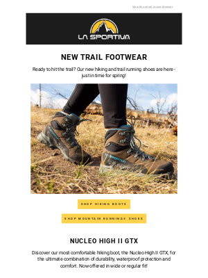 La Sportiva - Hit the Trail in New Styles