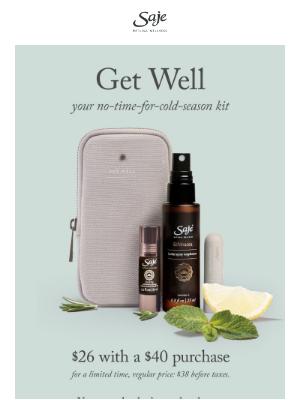 Saje Natural Wellness - Your no-time-for-cold-season kit