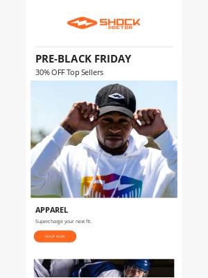 Shock Doctor - 🔥30% OFF Top Sellers 🔥 Pre-BLACK FRIDAY SALE