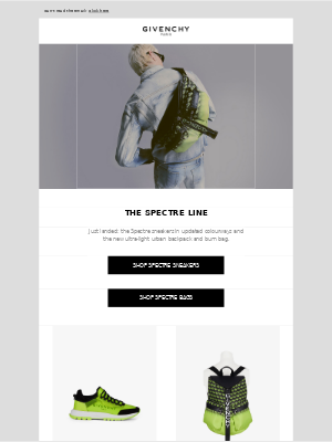 Givenchy - The Spectre Line