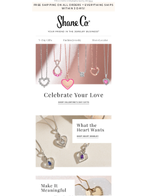 Shane Co. - The V-Day gift guide is here!