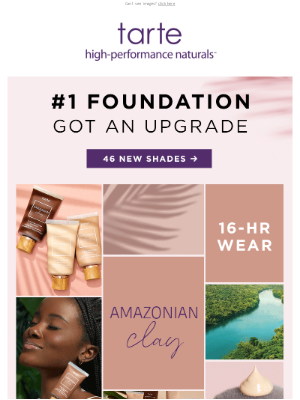 Tarte Cosmetics - #1 FOUNDATION GOT AN UPGRADE