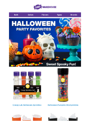 CandyWarehouse - Halloween Party Favorites - Sweet Spooky Fun 🕷
