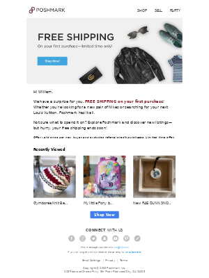 Your FREE shipping ends soon!
