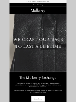 Mulberry - Discover the Mulberry Exchange