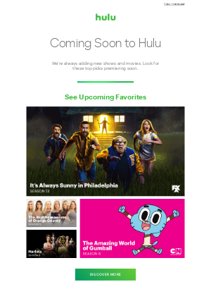 See What's Coming Soon to Hulu