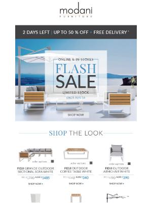 Modani Furniture - Flash Sale  ⚡️ | Up to 50% Off!