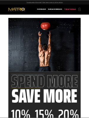Matrix Nutrition (UK) - 🚨 Spend More Save More - Ends Soon! 🚨