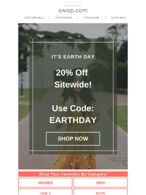 Swap - An Earth Day Surprise! 🌎🎁