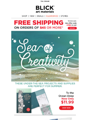 Make waves with ocean-inspired projects and supplies!