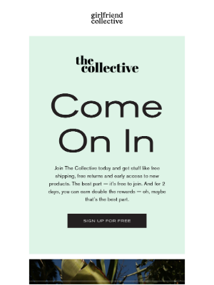 Girlfriend Collective - Trust us, you won't want to miss this.