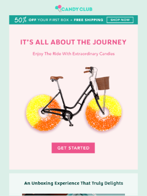 Candy Club - Wanderlust? Enjoy The Ride With Candies!