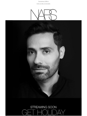 NARS Cosmetics (UK) - RSVP now: Livestream with Vincent Ford.