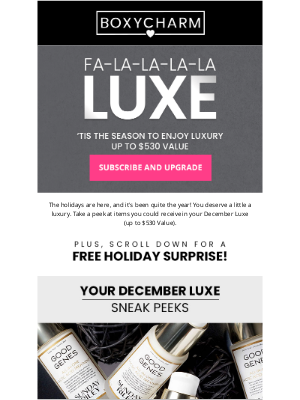BOXYCHARM - All the jingle ladies get ready for... (Up to $530 value) 🔔