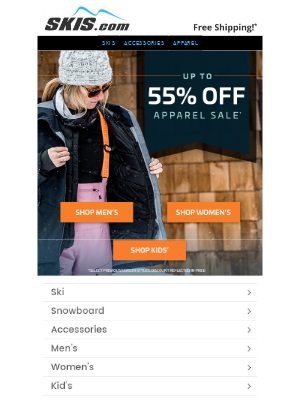 Skis - Past Season Apparel Sale ❄️Up to 55% OFF