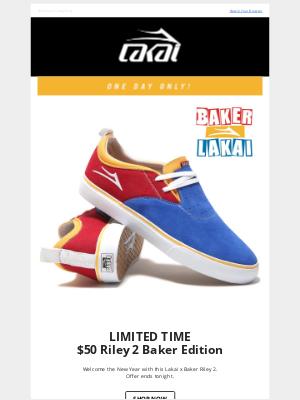 Lakai Footwear - New Year, New Deal