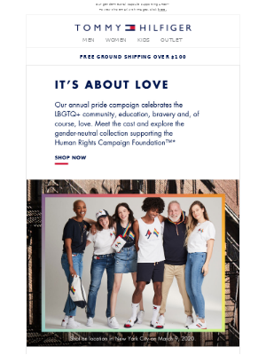 🌈The 2020 Tommy Pride Collection