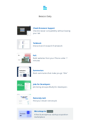 Beta List - Talebook, Remotely.tech, Foli., Summerian, Jobs for Developers, and more