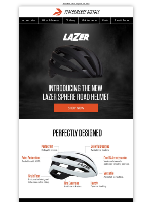 Performance Bicycle - Introducing the New Lazer Sphere