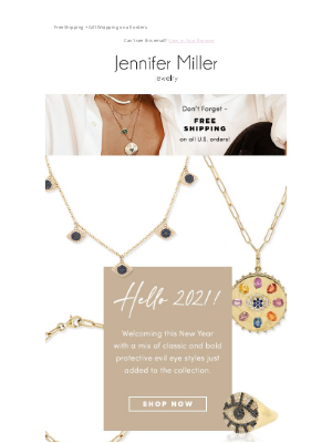 Jennifer Miller Jewelry - Hello, 2021! Meet Our Protective Evil 👁 Collection