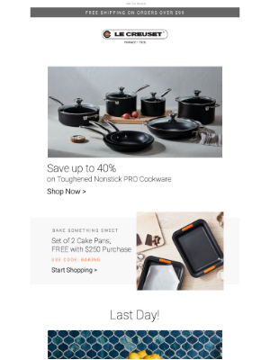 Le Creuset - Save Up To 40% on Our Best-Ever Nonstick